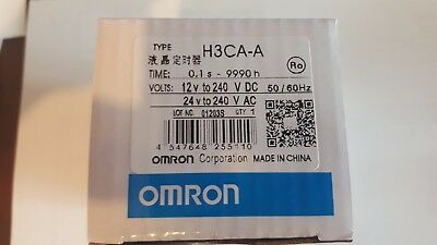 New Omron H3CA-A Solid-state Timer 24-240VAC/VDC