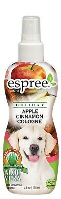 Holiday Apple Cinnamon Dog Cologne by Espree Animal Products - 4oz - Aloe Vera