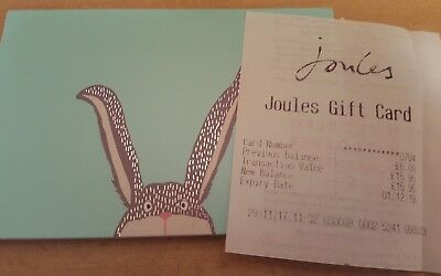 Joules Gift Card £15.95 Value