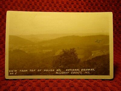 Rppc Early 1900's. Allegany County, Maryland. Unique View. Postcard H11