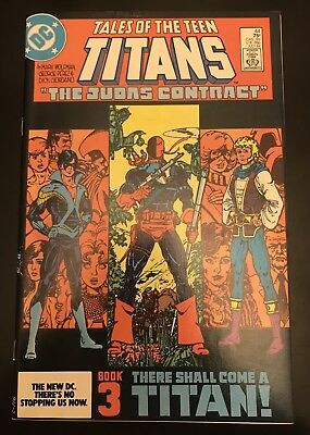Tales of the New Teen Titans 44 DC,Dick Grayson 1st as Nightwing Hot Key Issue