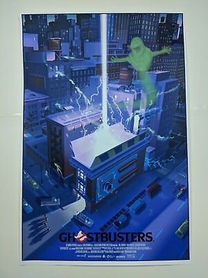 Ghostbusters Laurent Durieux Poster Print Mondo Gallery Ghost Jaws classic art