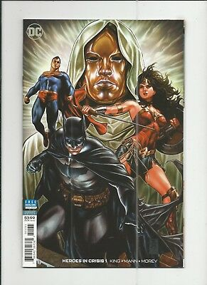 Heroes in Crisis #1 Mark Brooks 1:100 Variant Cover near mint- (NM-) condition