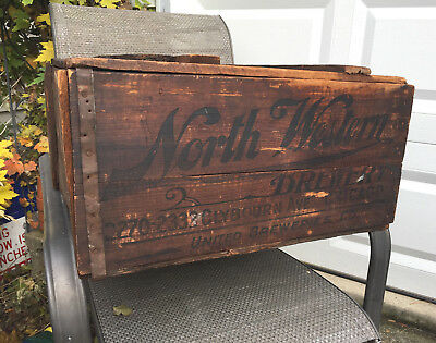United Breweries Co. Pre - Prohibition North Western Brewery Beer Crate Chicago