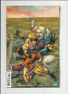 Heroes in Crisis #1 JG Jones 1:50 Variant Cover (VF/NM) condition