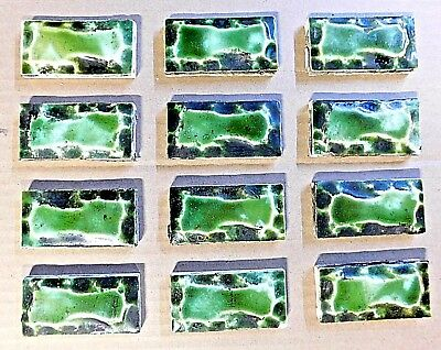 1900's Antique FIREPLACE TILES Hearth / Surround - VICTORIAN Style ORNATE