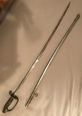Antique Japanese WWII Parade Sword & Scabbard