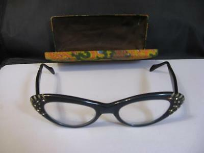 Vintage 1950's  Kono Cat Eyes Glasses Made in USA