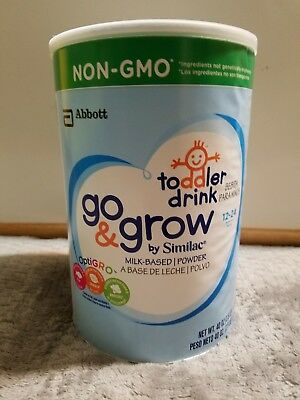 Similac Go and Grow Milk-Based Toddler Drink (40 oz.)
