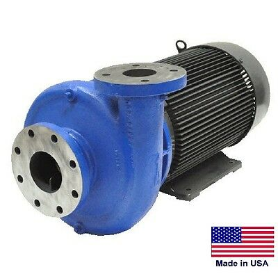 """STRAIGHT CENTRIFUGAL PUMP - 102,000 GPH - 30 Hp - 208-230/460V - 6"""" In / 4"""" Out"""