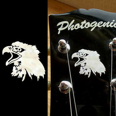 Eagle's Head Inlay Sticker Decal Guitar Headstock