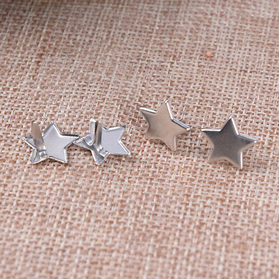 20x Metal Star Brads Pastel Scrapbooking Card Making Stamping Craft DI Bt