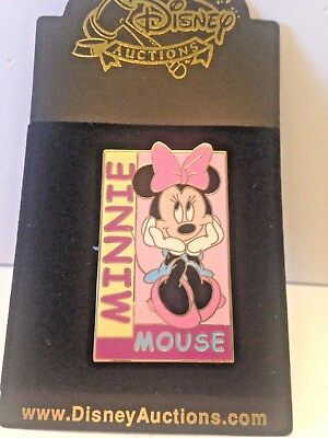 Disney Auctions Pin - Minnie Mouse Seated - Le 250
