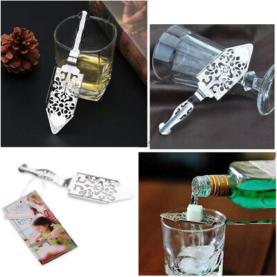 1Pcs 304 Stainless Steel Absinthe Spoon Sugar Cubes Absinthe Spoon Bar New