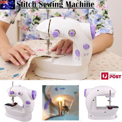 Electric Mini Multi-Function Portable Hand Held Desktop Home Sewing Machine DIY