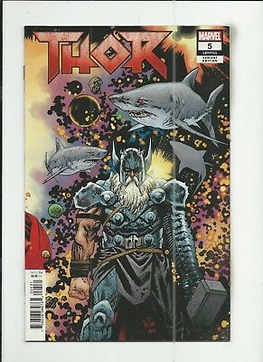 Thor #5 (2018) James Harren 1:10 Variant Cover (VF/NM) condition