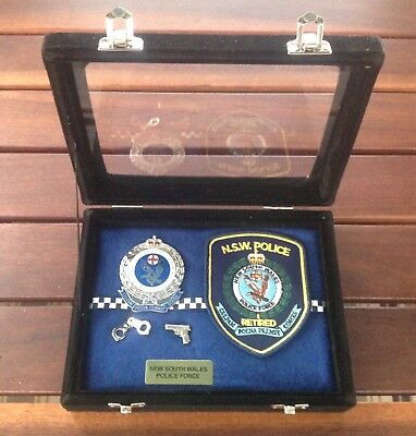 NSW Police Force Retired Presention Set - Social