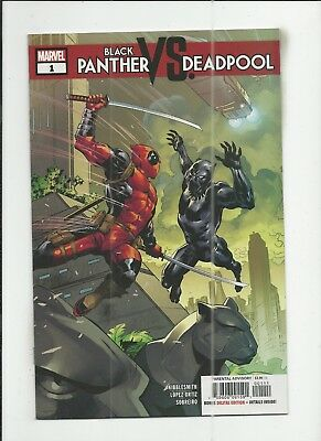 Black Panther vs. Deadpool #1 near mint- (NM-) condition