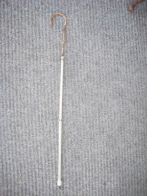 "Old Vintage Nautical Marine Metal Hand Held Shaft 30"" Handle Fishing Gaff Hook"