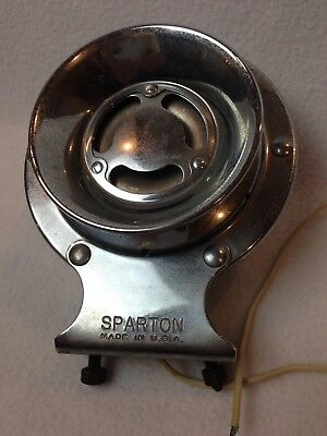 "Vintage ""Sparton"" Chrome 12 Volt Boat Horn Model SA Parts Or Repair"