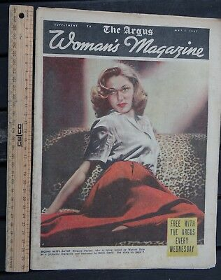 1 x 7 MAY 1947 EDITION THE ARGUS WOMENS MAGAZINE