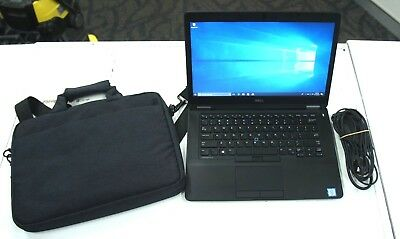 "Dell Latitude E5470 14"" i5 6300U 2.5GHz CPU 250GB SSD 8GB RAM Laptop FROM $1.00"