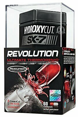 Muscletech Hydroxycut SX-7 Revolution Ultimate Thermogenic 60 Capsules