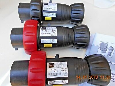 STAHL 8571/12-407 8571/12-406  32A Ex PLUG LOT OF 3 UNITS  NEW