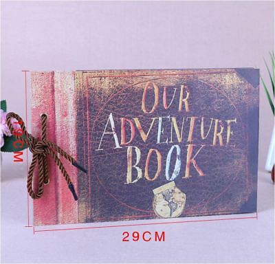 DIY Kraft 19 x 29cm Our Adventure Book Photo Album Wedding Scrapbooking