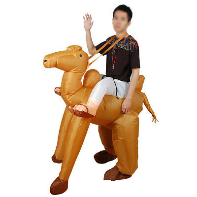 Camel Inflatable costume suit Inflatable Blow Up Costume Cosplay