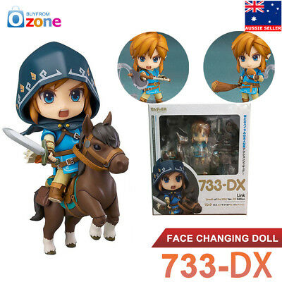 Nendoroid The Legend of Zelda 733-DX Link Breath of the Wild Deluxe PVC Figure