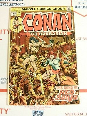 Conan #24 First Full Appearance of Red Sonja