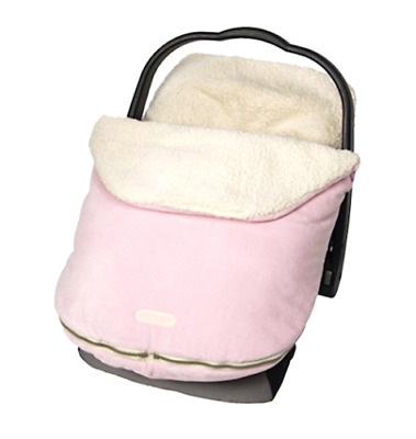 Car Seat Cover Baby Infant Girl Pink Carseat Carrier Canopy Bundle Warm Winter
