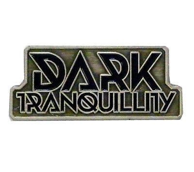 Dark Tranquillity Logo Metal Pin Button Badge Official Band Merch New
