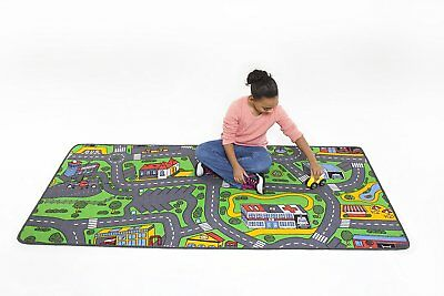 Kids Play Rug Car Road Rug Hot Wheels Matchbox Track 39 23 Picclick