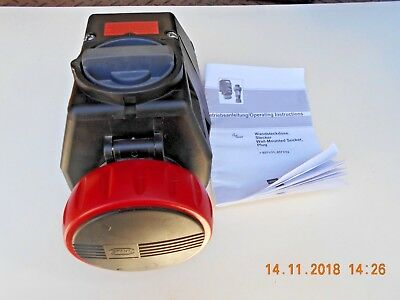 Stahl 8571/1 Socket Receptacle New With Manual - No Factory Box