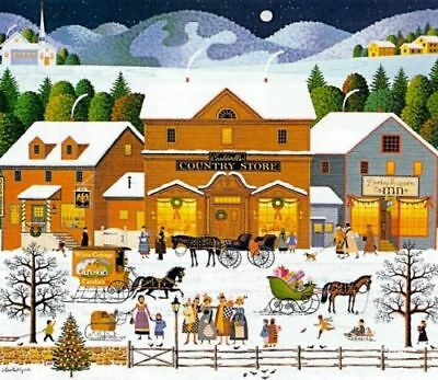 charles wysocki Christmas Eve Limited Edition S/N With Cert