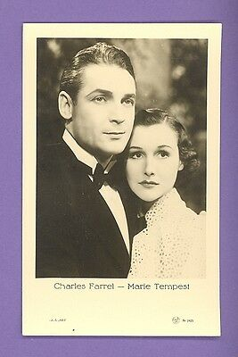 Charles Farrell & Marie Tempest # 2425 Vintage Photo Pc. Publisher Latvia  1278