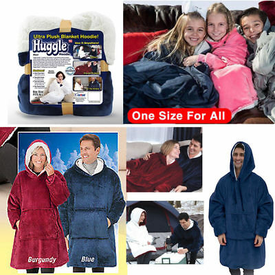 Cifferow Winter Super Soft Warm Lazy Quilt Sleeves family Blanket Cape Cloak Nap