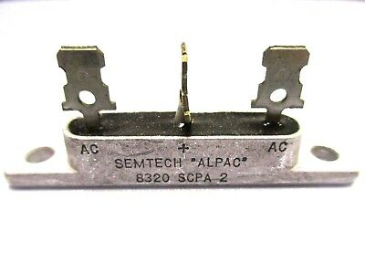 Rectifier, SCPA-2 200 Volt 15 Amp Center Tap (New Old Stock)(QTY 5 ea)N6