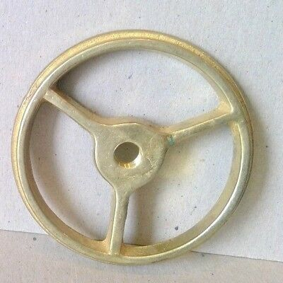 """Brass Shade Rest For Lamp 3 1/4"""" Reverse Painted Holder Table Repair"""