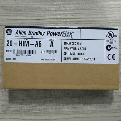 1 PCS  NEW- Sealed Allen Bradley 20-HIM-A6 /A Quality Assurance 3months