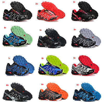 Athletic men's salomon speedcross 3 running hiking casual sports shoes sneakers