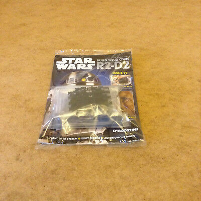 Star Wars Build Your Own R2-D2 Droid Model Issue 97 Model Parts Droid Directory