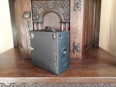 Antique Vintage  Ensign, Houghton & Butcher Box Camera 2 1/4 B E20