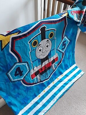 Thomas & Friends Cot bed duvet cover and pillow case good used condition