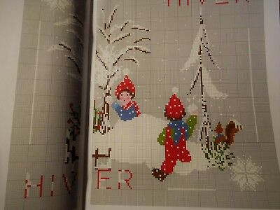 Magazin,Creation Point de Croix°68,Veronique Enginger,Winter,Weihnachten,Sampler