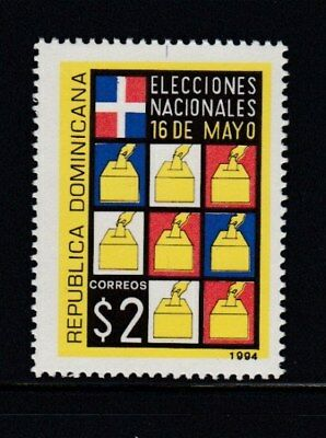 DOMINICAN REPUBLIC National Elections MNH stamp