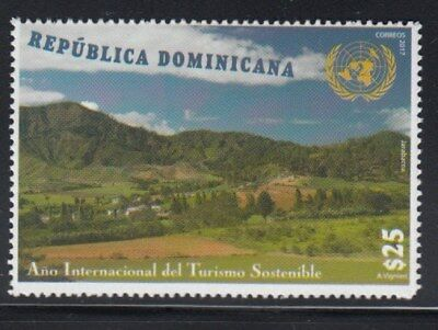 DOMINICAN REPUBLIC International Year of Sustainable Tourism MNH stamp