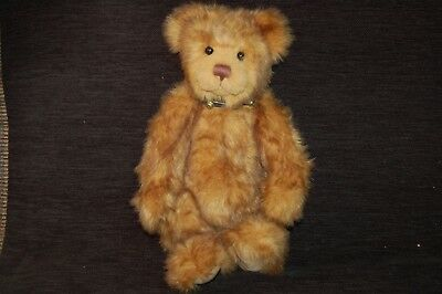 Charlie Bear - Owen with growler (retired)
